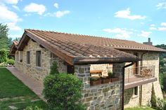 Copertura laterizio - Tuscan Style in Casentino - clay roofing tiles