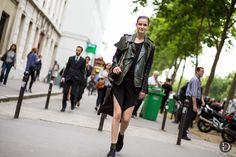 she is one cool cat. #ZlataMangafic #offduty in Paris.
