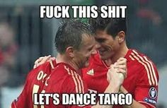 Forget the #football and lets dance..