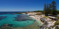 The Basin popular swimming area on Rottnest Island Perth W. Us Travel, Places To Travel, How To Use Hashtags, Quokka, Landmark Hotel, Slums, Western Australia, Basin