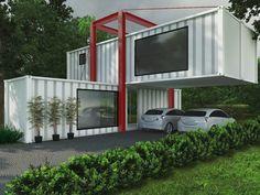 Navegue por fotos de Casas industriais: Casa Container. Veja fotos com as melhores ideias e inspirações para criar uma casa perfeita.