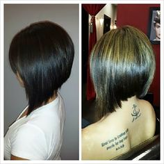 love the cut angled bob...oh no....do I need to cut.my hair...again.....kinda miss it....