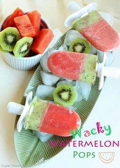 Watermellon pops