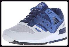 Saucony Unisex-Erwachsene Grid SD Pumps, Blau (Blue/Light Grey), 39 EU - Sneakers für frauen (*Partner-Link)
