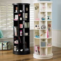 revolving book case
