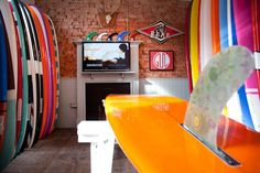 Watershed in Newquay, cool boards, nice colours!