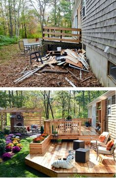 59 Incredible Outdoor Space Design Ideas To Elevate Your Outdoor Space Backyard Retreat, Ponds Backyard, Backyard Patio, Backyard Landscaping, Patio Deck Designs, Patio Design, Outdoor Spaces, Outdoor Living, Outdoor Decor