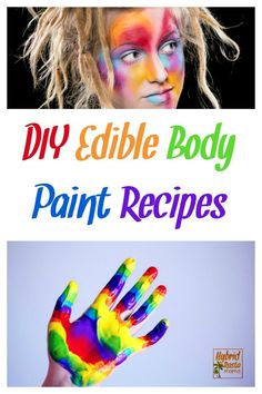 Love body paint or face paint? Looking for an easy DIY body paint recipe? What a… Love body paint or face paint? Looking for an easy DIY body paint recipe? What about an edible body paint recipe in the event… Continue Reading → Painting Recipe, Diy Painting, Diy Face Paint, Edible Paint, Fairy Tattoo Designs, Facial, Romance, Diy Skin Care, Diy Beauty