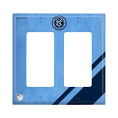 New York City FC Double Rocker Light Switch Cover