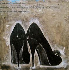 Fashion Art Paintings by Andrea Stajan-Ferkul | Art of Day
