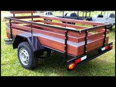 Box Trailer, Off Road Trailer, Trailer Plans, Utility Trailer, Welded Furniture, Upcycled Furniture, Trailers, Welding Projects, Jeep
