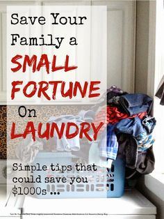 Save money on laundry with these simple tips ...