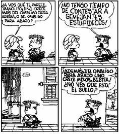 ¿Se crece más del ombligo para arriba o del ombligo para abajo? #MafaldaQuotes