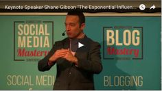 """Social Selling Keynote """"The Exponential Influencer"""" by Shane Gibson"""