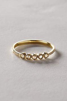 Rosecut Diamond Ring in 14k Gold - #anthrofave