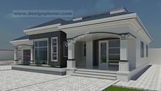 Designed Home Plans - A Turn-key Construction Services House Plans Mansion, Duplex House Plans, My House Plans, Bungalow House Plans, Family House Plans, Bungalow House Design, Modern Bungalow, Flat House Design, Best Modern House Design