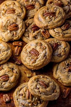 Drooling over this Brown Butter Pecan Cookie recipe.