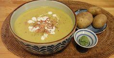 Kartoffelsuppe mit Krabben - Mit einem Hauch japanischer Schärfe überrascht der Klassiker der deutschen Küche in einer neuen Geschmacksnote.