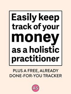 Are you a holistic health coach who needs to start tracking your business expenses? Easily keep track of your money with this business expense tracker! It's an auto-calculating spreadsheet in Excel for the whole year, and is perfect for holistic nutritionists, health coaches, or yoga teachers. Click here to get your own business expense tracker.