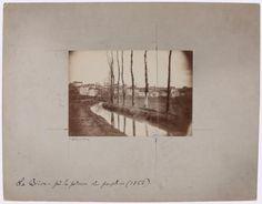 La Bièvre, près de la poterne des Peupliers, 13ème arrondissement, Paris. 1862. | Paris Musées