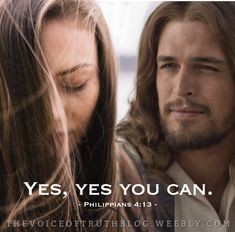 """Philippians """"I can do all things through Christ who strengthens me. Jesus Son Of God, Jesus Loves You, Bible Notes, Bible Scriptures, Sinners Prayer, Jesus Christ Quotes, Jesus Pictures, Godly Woman, Heavenly Father"""