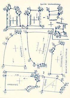Lutterloh 1938 Book Of Cards -  Models Diagram Card 56