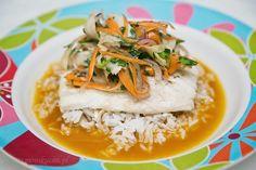 poluzuj tam, gdzie cię ciśnie : Filety rybne w sosie z pomarańczy
