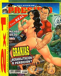 ¡Historietas Perversas!: Relatos De Presidio