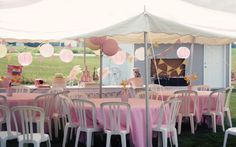 Who doesn't love a circus themed party? This sweet take on a Big Top bash features our Vintage Circus Printable Collectionand is full of simple but sweet details. We love the idea of little plush elephant favors for the little ones, and the pinwheel centerpieces are so much fun! Here's what mom Laurie said about …