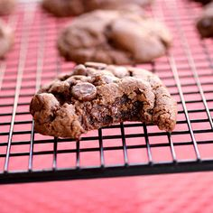 Double Chocolate Peanut Butter Cookies. YUM!