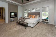 Home Show Expo master bedroom. #homeshow #masterbedroom #master