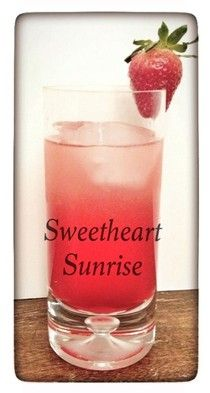 Sweetheart sunrise for valentines day from Homemade Mamas