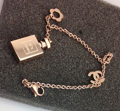 women 18k gold chanel perfume bracelets $20.00