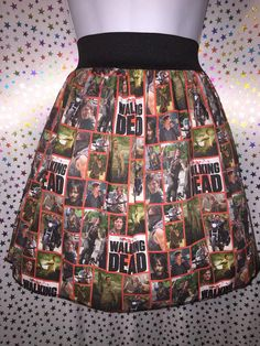 Daryl Dixon Skirt PLUS SIZE by GeekOutFL on Etsy