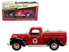"""1940 Ford Tanker """"Texaco"""" Red 1/32 Diecast Model Car by Beyond Infinity by Beyond The Infinity (Item No: 0610): Available online at Howland Trading Company"""