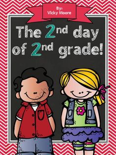2nd day of 2nd grade from traditionslaughter on TeachersNotebook.com (9 pages)  - This 9 page mini pack is just perfect for celebrating the 2nd day of 2nd grade. Let's face it - the days fly by in the beginning of the school year with procedures, read alouds, assemblies, etc. You don't need a HUGE packet to cram all the 2nd d
