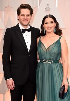 Pin for Later: 16 Celebrity Couples Celebrating 5 Years of Marriage America Ferrera and Ryan Piers Williams The pair married at her Ugly Betty costar Vanessa Williams's home in New York.