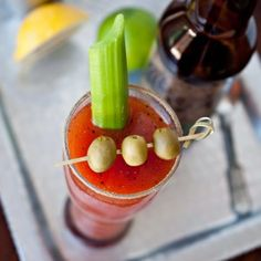 Brewed Mary: Beer Bloody Mary - The Beeroness