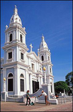 Cathedral Nuestra Senora de Guadalupe, Plaza de Las Delicias, Ponce, Puerto Rico; photo by Greg Vaughn