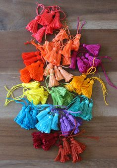 tassels, tassels and more tassels!