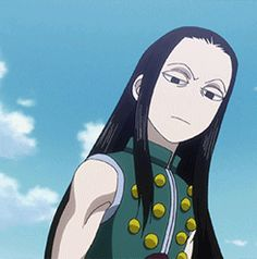 "illumi - ""you did that on purpose didn't you?"" hisoka - ""I don't know what you're talking about"""
