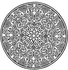 coloring pages :: flower mandela image by tharens - Photobucket