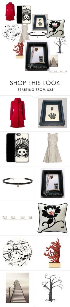 """""""Happy Tuesday"""" by sticksandstonesgallery ❤ liked on Polyvore featuring FAY, Alice + Olivia, Carbon & Hyde, Maison Margiela, Pillow Decor, Lisa Perry, L'Objet, ViSSEVASSE and Crate and Barrel"""