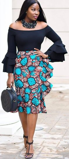 African print skirt, African fashion, Ankara, kitenge, African women dresses, African prints, African men's fashion, Nigerian style, Ghanaian fashion, ntoma, kente styles, African fashion dresses, aso ebi styles, gele, duku, khanga, vêtements africains pour les femmes, krobo beads, xhosa fashion, agbada, west african kaftan, African wear, fashion dresses, asoebi style, african wear for men, mtindo, robes, mode africaine, moda africana, African traditional dresses #Africanfashion