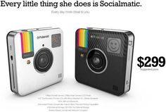Socialmatic Camera: Smart Retro Pocket Camera