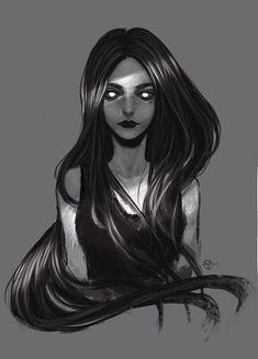Virink artwork from V ( – anime Dark Fantasy Art, Dark Art, Character Inspiration, Character Art, Art Sketches, Art Drawings, Arte Obscura, Dark Anime, Gothic Art