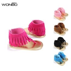 >> Click to Buy << First Walkers Baby Kids Pram Crib Summer First Walkers Fringe Tassel Shoes Infant #Affiliate