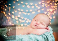 (valentine bokeh) Look at this sweet baby cupid! This will be another look alike pose i choose to showcase in my baby photography business as well! -KMF