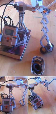 Fun DIY Lego Mindstorm Ideas and Tutorials | Lego Mindstorms Claw Machine by DIY Ready at http://diyready.com/9-diy-lego-mindstorms-ideas/