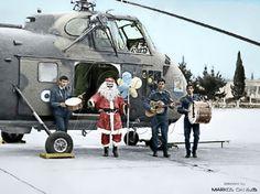 RHAF --  Sikorsky  UH-19B/D  Chickasaw, 357th Helicopter Sq., R.H.A.F., 112 CW.  ΕΒΑ --  357η Μοίρα Ελικοπτέρων, Ε.Β.Α., 112 ΣΜ. by Markos Danezis